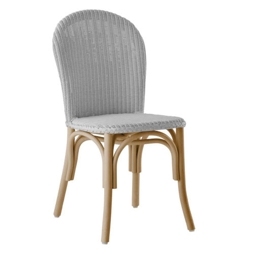Ofelia Light Gray Armless Chair