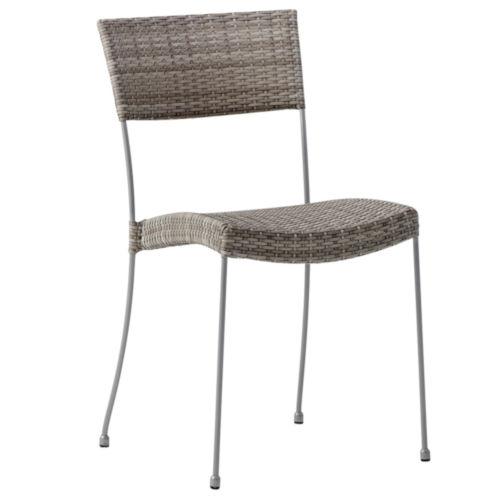 Comet Teak Gray Outdoor Chair