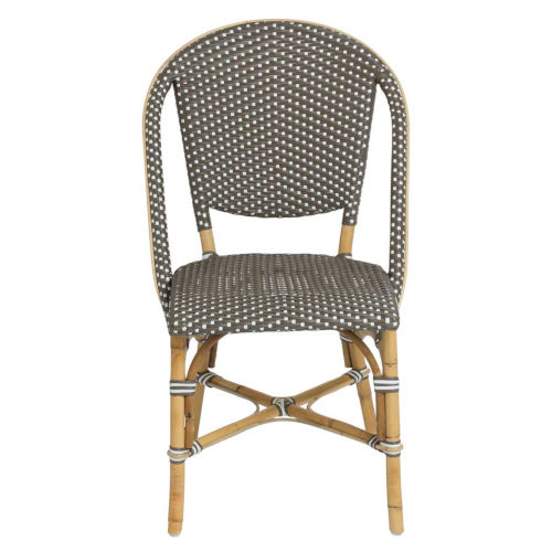Sofie Gray and Cappuccino Bistro Dining Side Chair