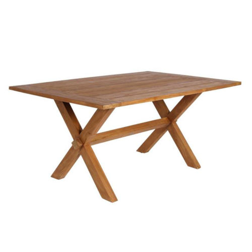 Colonial Natural Brown 63-Inch Outdoor Dining Table