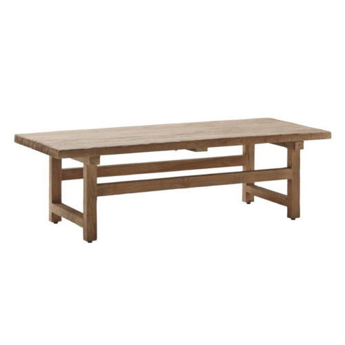 Alfred Natural Brown Coffee Table