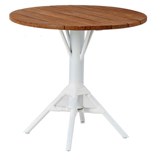 Nicole Cafe Outdoor Table Base with Square Top
