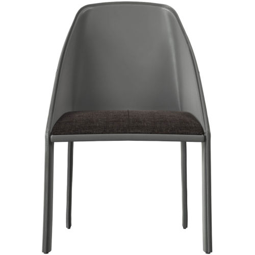 Sidney Charcoal Denim Dining Chair