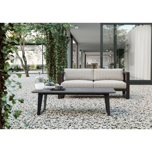 Amsterdam Gray Concrete Outdoor Coffee Table