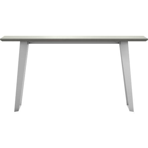 Amsterdam White Sand Concrete Outdoor Console Table