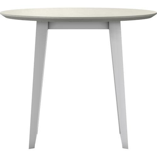 Amsterdam White Sand Concrete Outdoor Bistro Table
