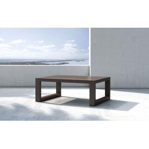 Parson Dark Eucalyptus Outdoor Coffee Table