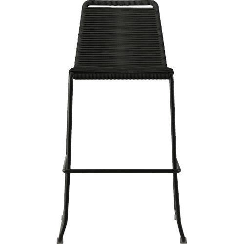 Barclay Black Cord 42-Inch Outdoor Barstool