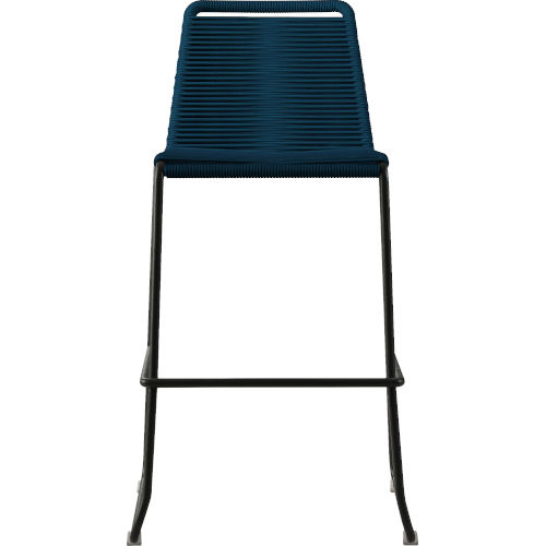 Barclay Blue Cord 42-Inch Outdoor Barstool