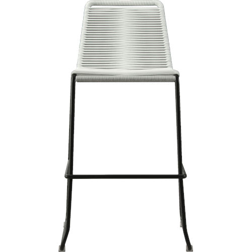 Barclay White Cord 42-Inch Outdoor Barstool