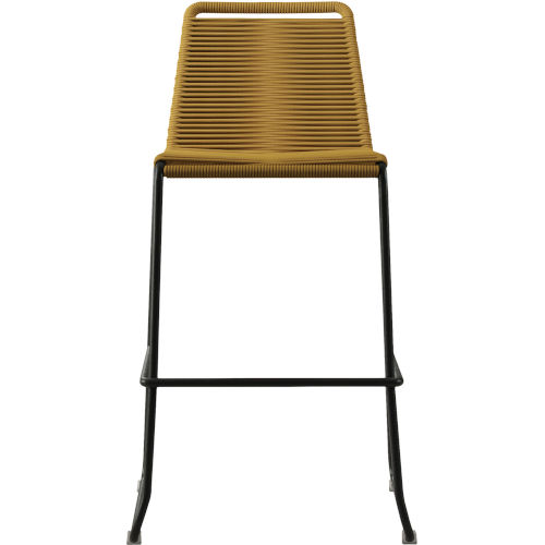 Barclay Curry Yellow Cord 42-Inch Outdoor Barstool