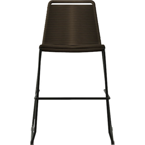 Barclay Mocha Cord 39-Inch Outdoor Counter Stool