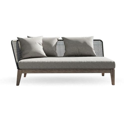 Netta Outdoor Left Arm Sofa