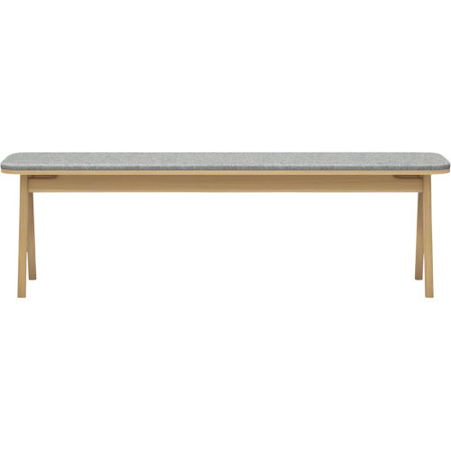 Haru Natural Oak 59-Inch Bench