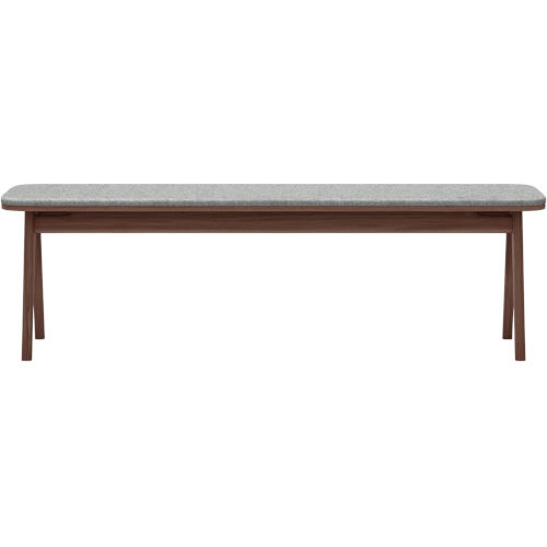 Haru Walnut 59-Inch Bench