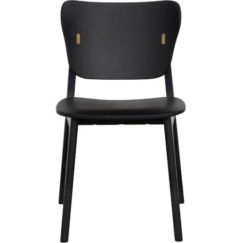 Emi Black Oak Dining Chair