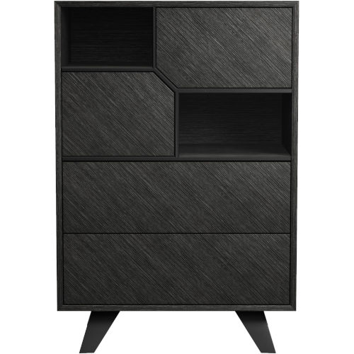 Rivington Gray Oak 31-Inch Dresser