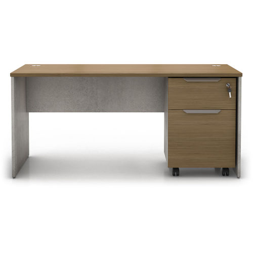 Broome Latte Walnut 29-Inch Desk Set