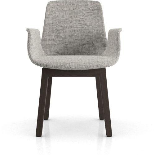Mercer Gibraltar Fabric Dining Arm Chair