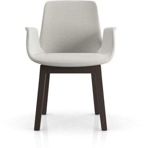 Mercer Silver Birch Fabric 22-Inch Dining Chair