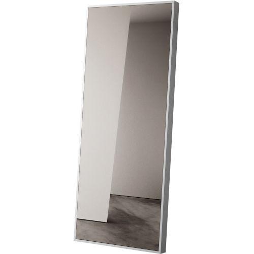 Greene Glossy White Mirror
