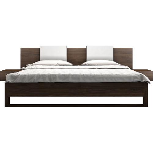 Monroe Walnut Bed