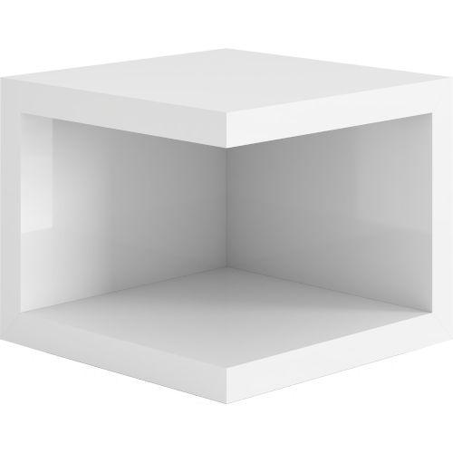 Ludlow Glossy White Nightstand