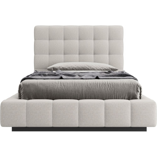 Thompson Luna Fabric Twin Bed