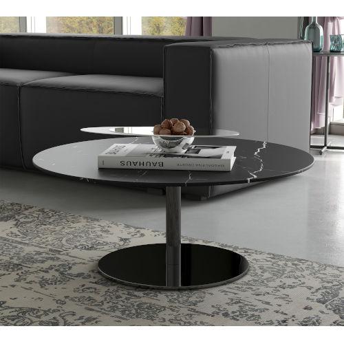 Bleecker Black Marble Coffee Table
