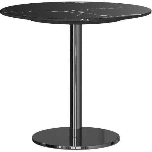 Bleecker Black Marble Side Table