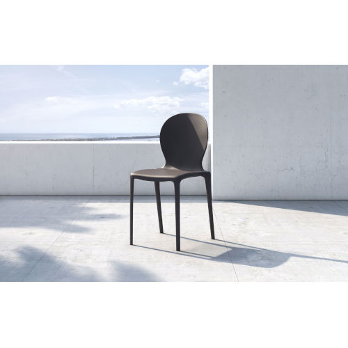 Vieste Anthracite Dining Chair