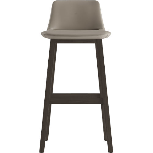 Mercer Castle Gray Eco Leather 41-Inch Barstool