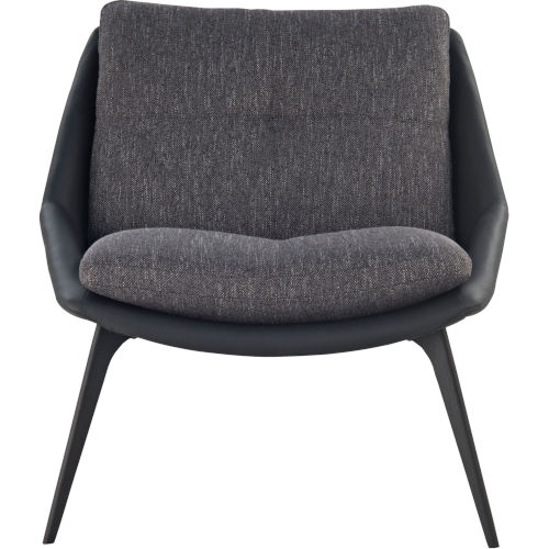 Columbus Dark Shadow Fabric Lounge Chair