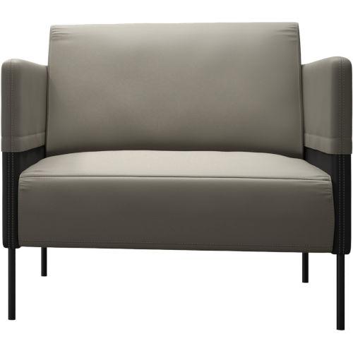 Allen Opala Leather Lounge Chair