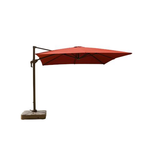 Isola Henna Outdoor Cantilever Square Parasol Umbrella