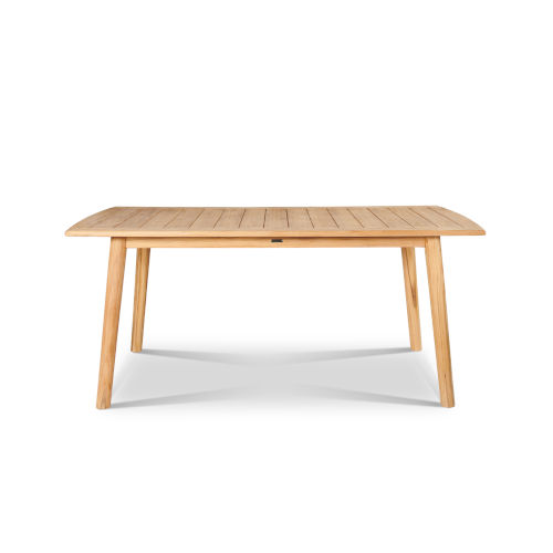 Modurn Nature Sand Teak Teak Rectangular Outdoor Dining Table