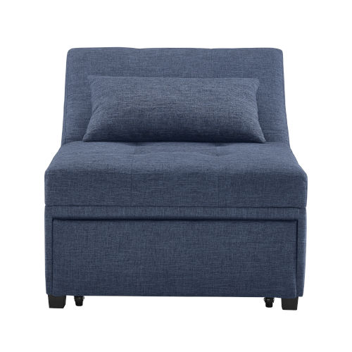 Remington Blue Sofa Bed