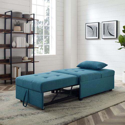 Boone Teal Sofa Bed