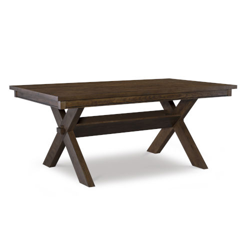 Turino Rustic Umber Dining Table