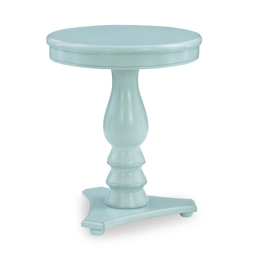 Stanton Teal Blue Side Table
