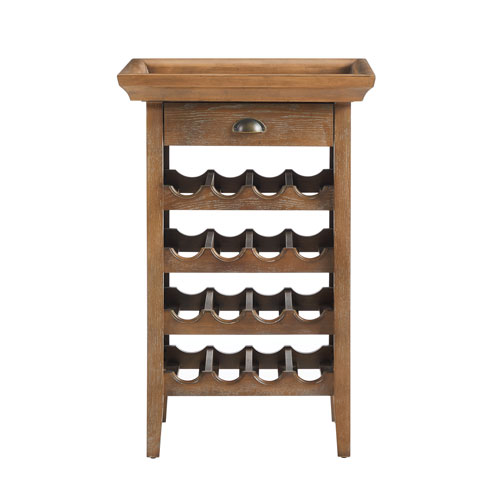 Tavor Brown Wine Cabinet