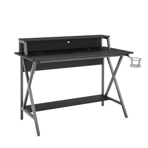 Ian Black Gray Desk