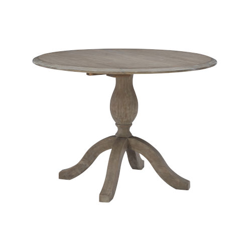 Torino Antique Rustic Drop Leaf Table