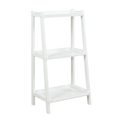 Dunnsville White 3-Tier Ladder Shelf