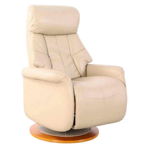 Oxford Cobble Breathable Air Leather Manual Recliner