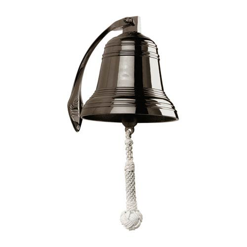 Authentic Models Bronze 8-Inch Ship Bell