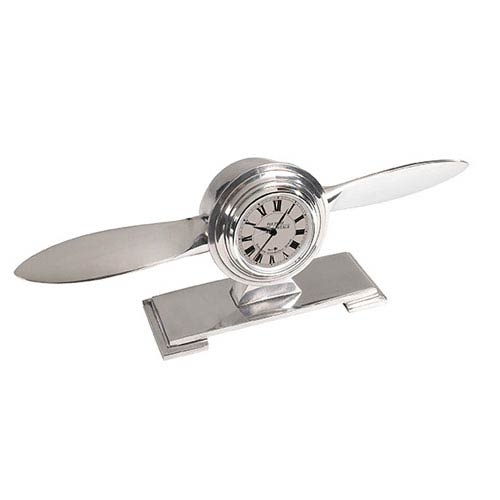 Authentic Models Propeller Clock