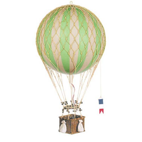True Green Royal Aero Hot Air Balloon Model