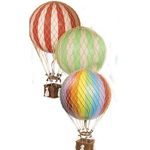 Authentic Models Red Jules Verne Balloon