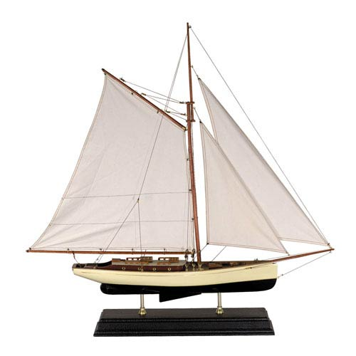 Authentic Models 1930s Classic Large Yacht Model